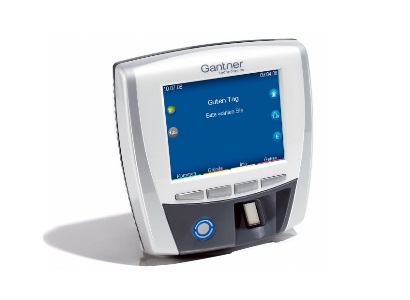Zeiterfassungsgerät mit Fingerprintleser
